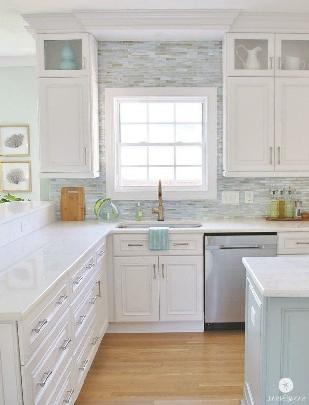 Best 25 Coastal Kitchens Ideas On Pinterest Beach Kitchens With First Class Coastal Kitchen Kitchen Cabinets Decor Kitchen Design Kitchen Cabinets Makeover