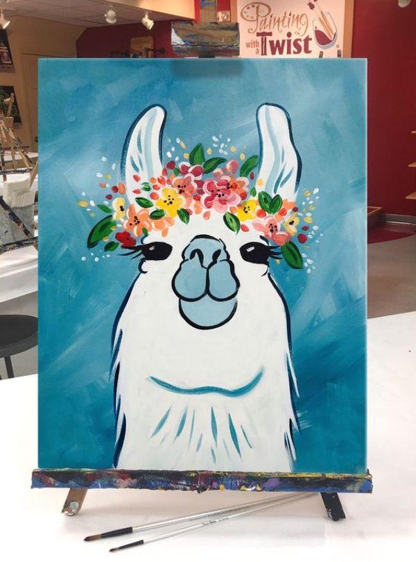40 All Time Cutest Miniature Painting Ideas Cute Canvas Paintings Diy Art