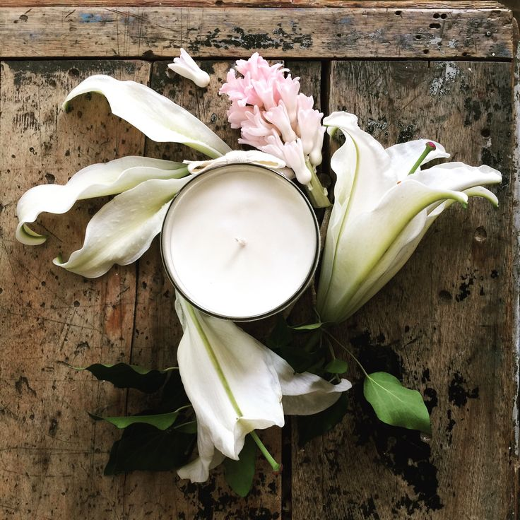 White flowers No.59 Apothecary by Pure Home Couture