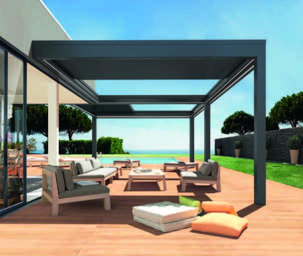 pergola bioclimatique recherche google veranda aluminium pinterest sonnenschutz. Black Bedroom Furniture Sets. Home Design Ideas