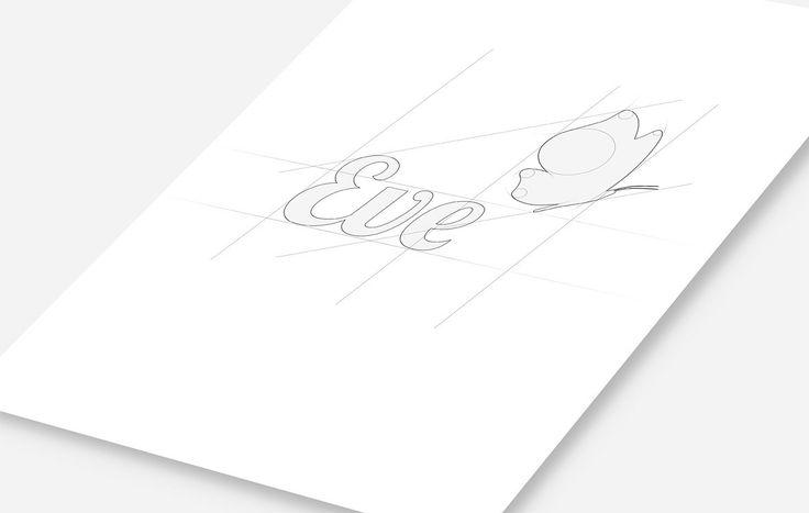 Логотип салона красоты Eve