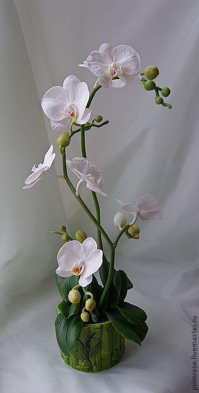 """Интерьерные композиции ручной работы. Ярмарка Мастеров - ручная работа композиция """"белые орхидеи"""". Handmade."""