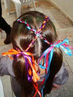 Mãe de Guri & Guria: Ideias de penteados e acessórios infantis para fes...