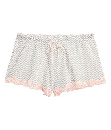 2 pantalones cortos de pijama | Color maquillaje | Mujer | H&M PE