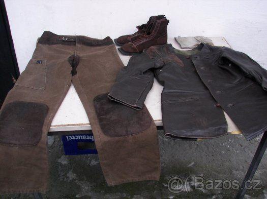 Střelecký oblek - Prodám kožený střelecký oblek, 70 léta. - bunda zn. Sauer - pas 2 x 48 cm, délka 73 cm - kalhoty zn. Sauer - pas 2 x 42 cm, délka 112 cm - boty zn. Sauer - vnitřní stélka cca 28 cm - rukavice zn. Sauer Osobní odběr nebo platba předem minimálně na poštovné. SMS neposílejte.https://s3.eu-central-1.amazonaws.com/data.huntingbazar.com/4677-strelecky-oblek-ruzne-prislusenstvi-ke-zbranim.jpg