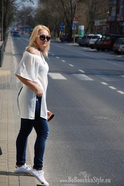 Babooshka Style - Blog modowy: Bluzka Dresslily -  tył na przód