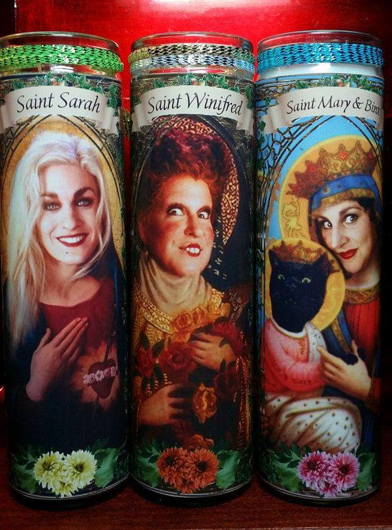 Set of 3 Hocus Pocus Cast members Church Window:  by WantWishBuy