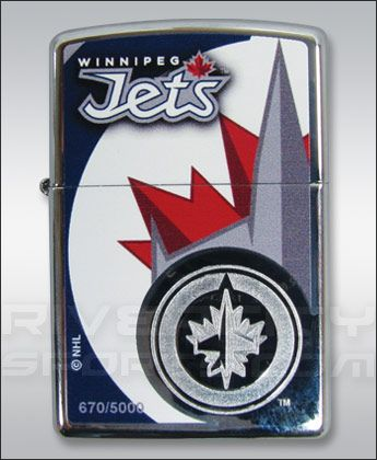 Winnipeg Jets LIMITED EDITION ZIPPO LIGHTER Souvenirs - NHL Apparel, Jerseys, Souvenirs - River City Sports
