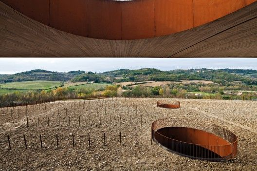 Antinori Winery by Archea Associati (Bargino, San Casciano in Val di Pesa, Firenze, Italy)