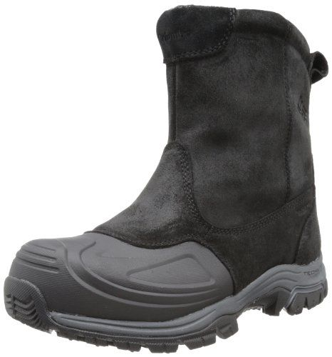 Columbia Men's Silcox Slip Omni-Heat Snow Boot,Black/Coal,12 M US Columbia,http://www.amazon.com/dp/B00AEA5VL4/ref=cm_sw_r_pi_dp_znMKsb0KJ7VS6CRW