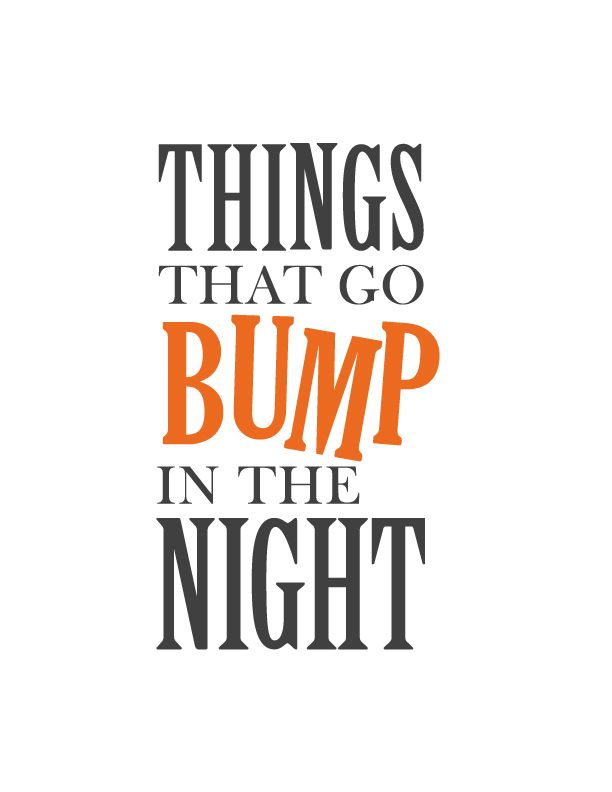 Delightful Bump Halloween Print #Halloween #HalloweenIdeas #HalloweenDecor #quote  #inspiration