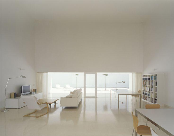 Guerrero House, located at Vejer de la Frontera, Cádiz, Spain, was designed by the famous Spanish architect Alberto Campo Baeza