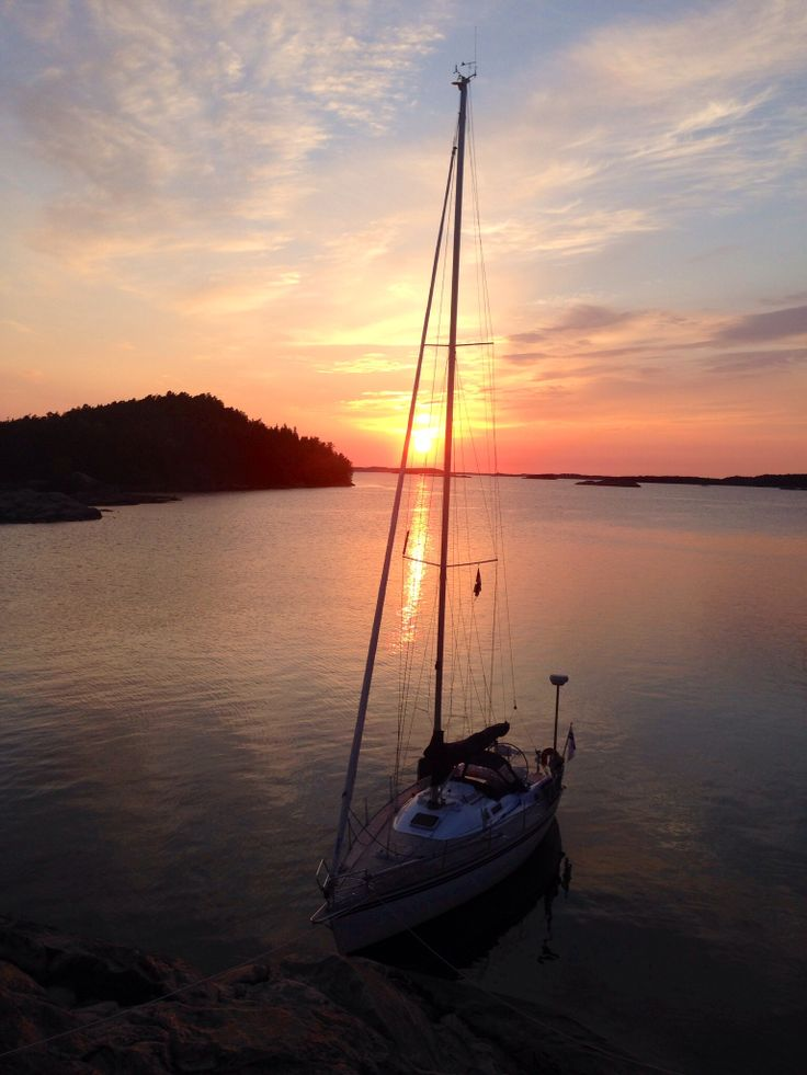 #archipelago #finland #midnightsun Life is Good.