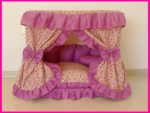 New  Floral Gorgeous Pet Dog Cat Puppy Bed House by Simplyworld, $80.00