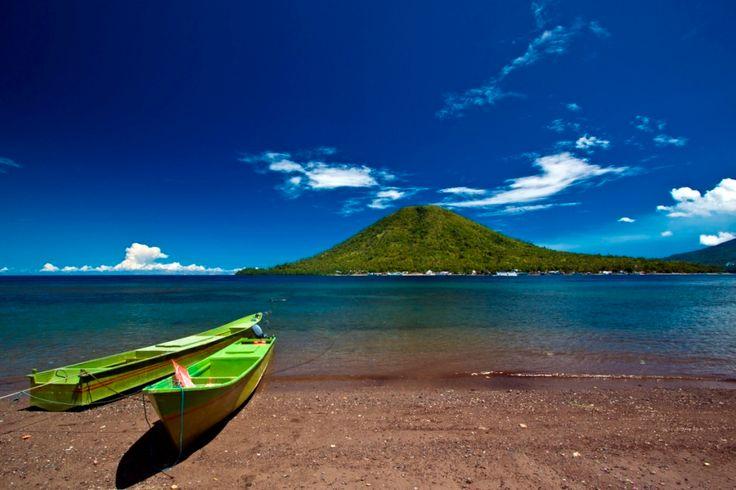 Sulamadaha beach, North Maluku, Indonesia