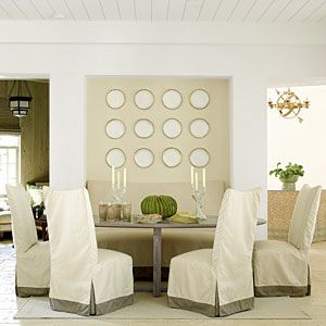 2012 | Rosemary Beach | Dining Room | Designer: Urban Grace InteriorsDining Rooms, Dining Chairs, Beach Houses, Slipcovers Dining, Grace Interiors, Coastal Living, Ultimate Beach, Breakfast Room, Rosemary Beach
