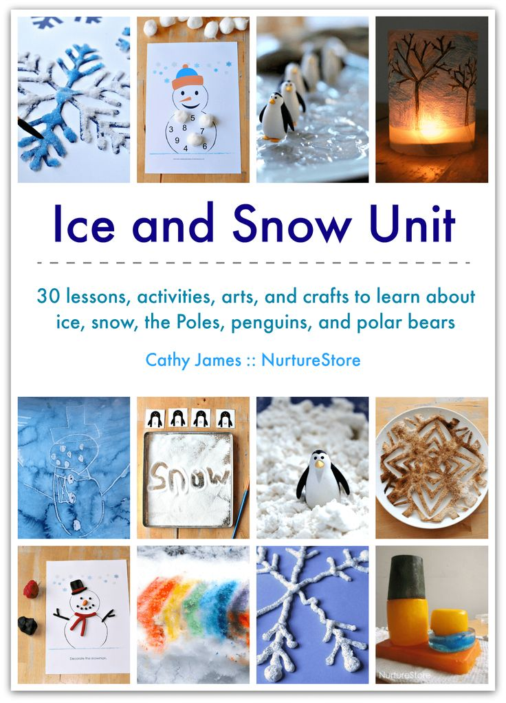 ice and snow unit winter lesson plans activities and printables. Black Bedroom Furniture Sets. Home Design Ideas