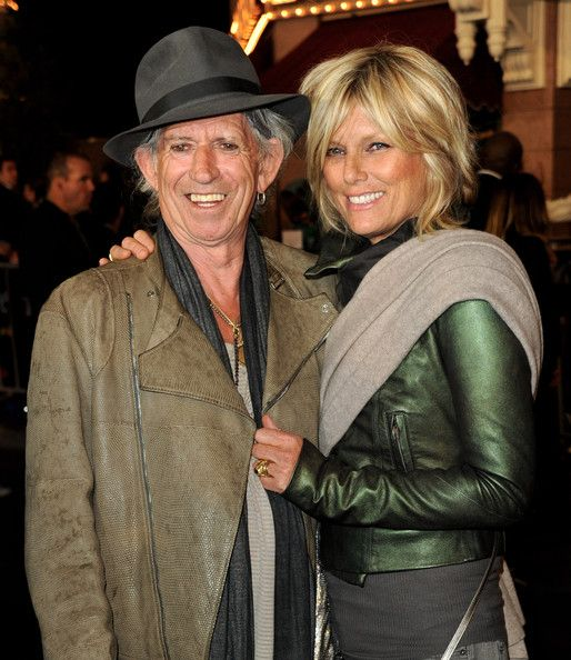 Keith Richards and Patti Hansen happily married for over 20 years!