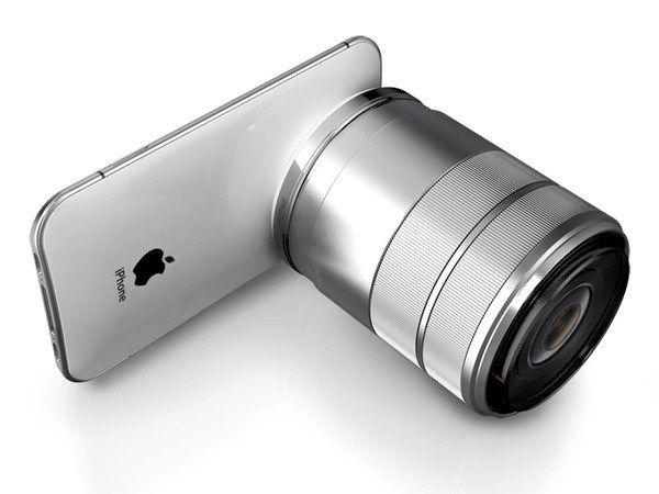 一眼レフカメラ用のレンズを装着できるマウントが付いたiPhoneのデザインコンセプトが公開されていました。  デジタルカメラの代わりにiPhoneで写真を撮影・共有する、というカメラライフはすっかり定着した感がありますが、レンズの交換ができない現状では、写真の楽しみの半分しか味わえていないといっても過言ではありません。デザイナー・Jinyoung Choi氏による「iPhone…