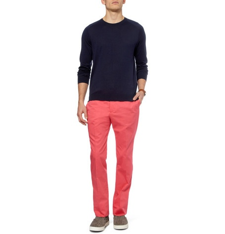 pantalones de colores para hombres: Casual Trousers, Trousersmr Porter, Men Clothing, Smithstraightleg Cotton, Cotton Trousers Mr, Cotton Trousersmr, Fabulous Clothing, Paul Smithstraightleg, Smith Straight Legs Cotton