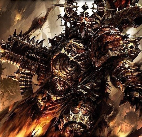 Chaos Marine Codex Cover | Warhammer 40k and Fantasy ...