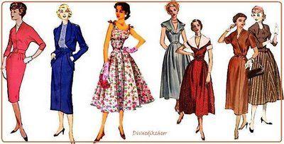 1940-es évek divatja - Google keresés