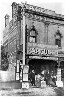 [Beck Brothers newsagency in Greville Street]