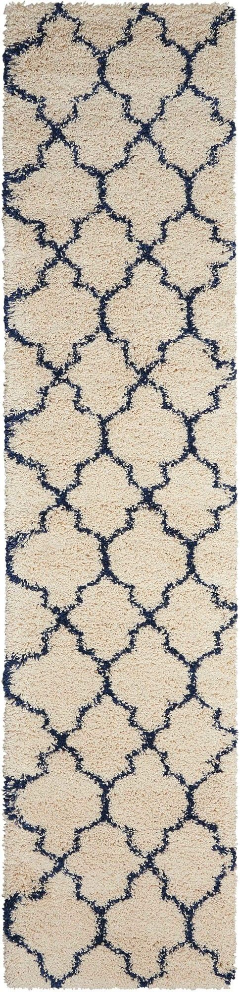 Amore Ivory/Blue Area Rug