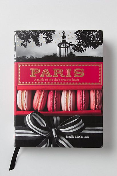 A creative guide to paris.. with beautiful layouts and tips on where to go for exciting art and culture. They even say the word 'hipster'. ha