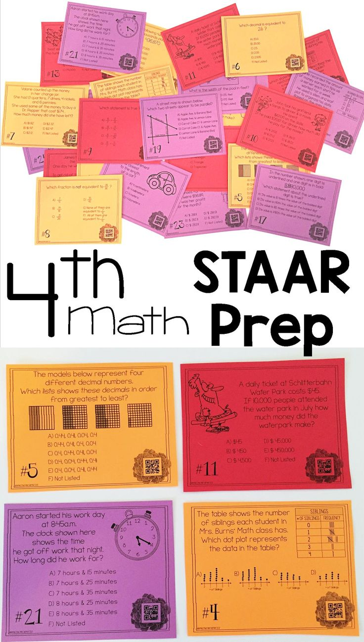 These task cards are EXACTLY what I was looking for!  My 4th grade math students needed some more review before the 4th grade texas staar math test and this was the perfect test prep activity to get them ready for STAAR!