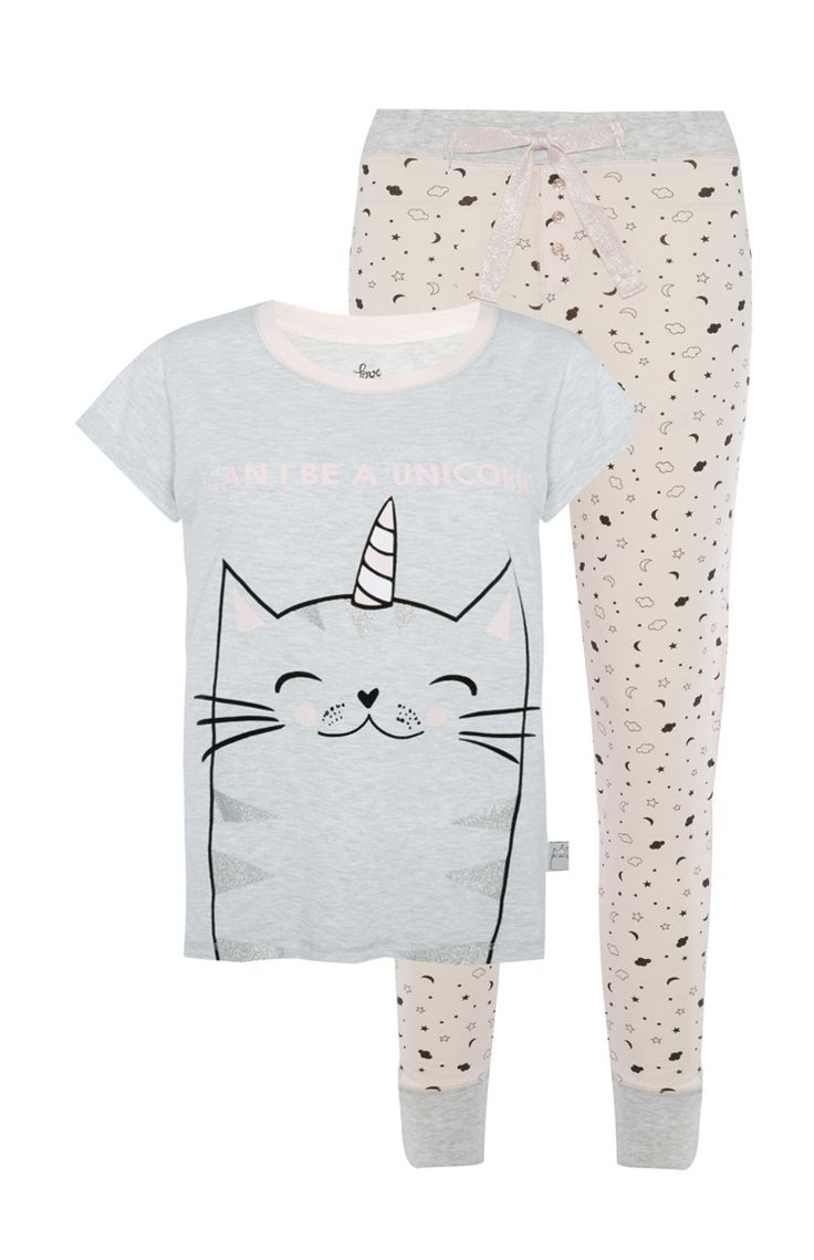 Caticorn PJ Set