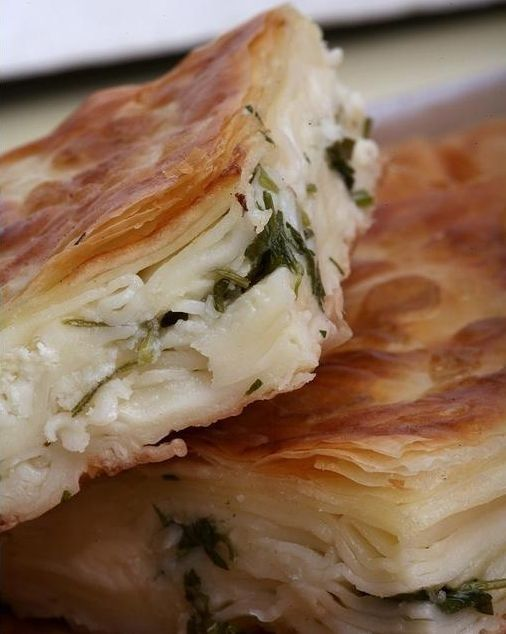 fotoblogturkey:  Su böreği (water pastry)Turkish cuisine