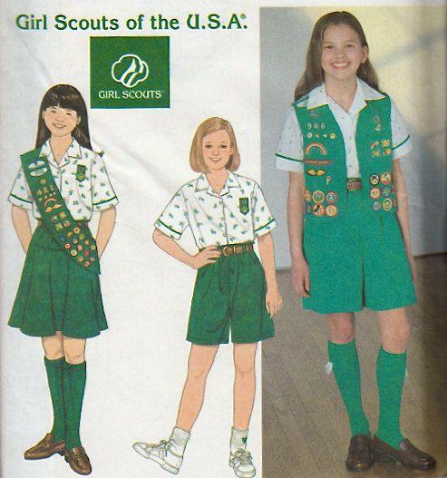 209 besten Girl scout uniform Bilder auf Pinterest | Pfadfinderinnen ...