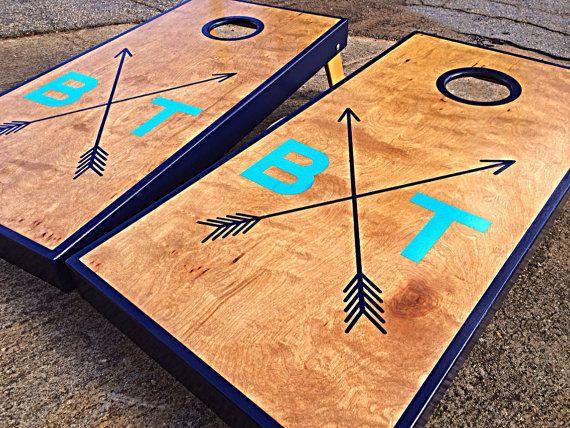 about custom wedding cornhole boards on pinterest custom cornhole