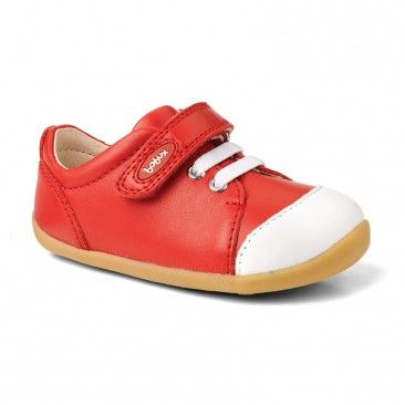 Step Up ice cap casual trainer red $59.95NZ http://www.babystuff.co.nz
