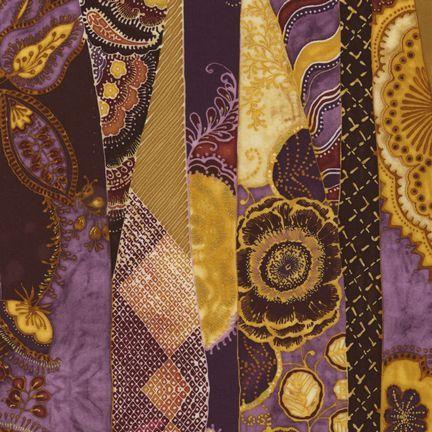 Robert Kaufman Fabrics: EUJM-6495-163 SPICE from Bohemian Rhapsody
