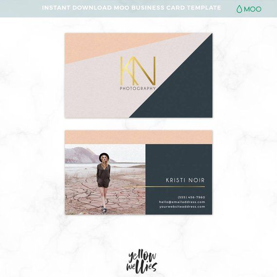 Nstant Download 3 5 X 2 Business Card Moo Sized Template Stand Out From The Rest Of Them Moo Business Cards Business Cards Photography Modern Business Cards