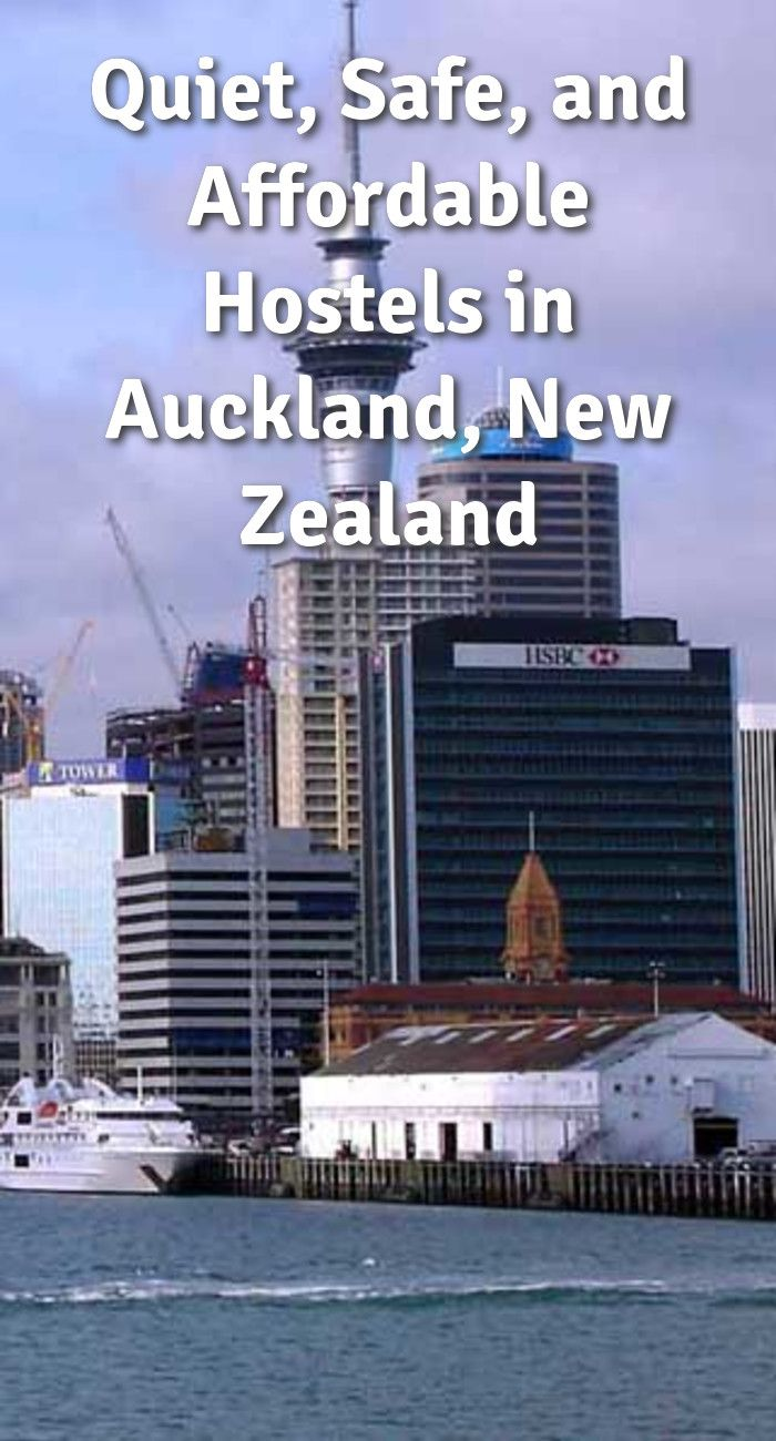 Quiet, Safe, and Affordable Hostels in Auckland, New Zealand: Auckland is New Zealand's largest city with a population of about 1.45…