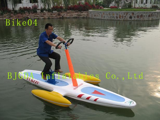 Water inflatable bicycle water bike