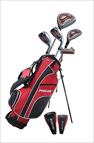 "Junior Golf Club Set for Ages 6 to 8 (Left Hand) - Height 3'8"" Inches to 4'4"" Inches"