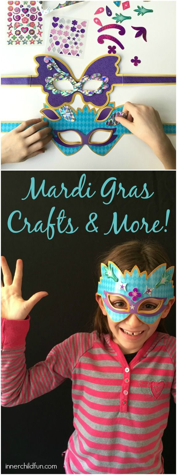 Mardi Gras Kids Crafts Part - 46: Mardi Gras Crafts And Activities