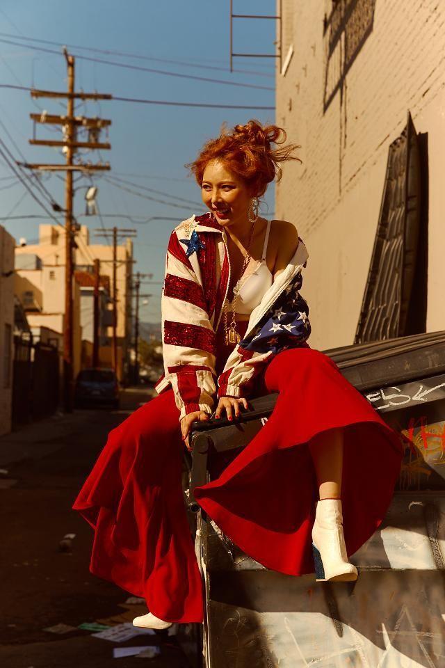 Hyuna Triple H 365 Fresh Concept Picture 170510 Fashion Women Victorian Dress