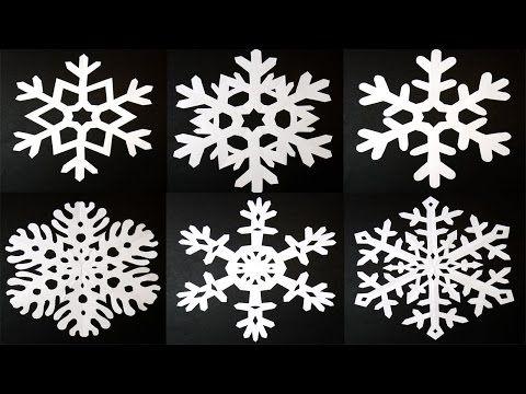 紙で簡単☆クリスマスデコ【切り紙スノーフレーク編】 – Handful[ハンドフル]