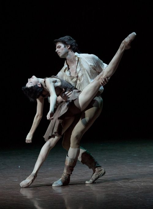 Florian Magnenet and Isabelle Ciaravola in Manon.  Photo by Anne Deniau.  ZsaZsa Bellagio: Paris Opera Ballet, Anne Deniau, Ballet Dance, Dancers Ballet, Manon, Photo, Dance