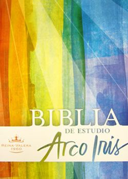 """""""BIBLIA DE ESTUDIO ARCOIRIS 1960RV TAPA DURA"""", via Flickr."""