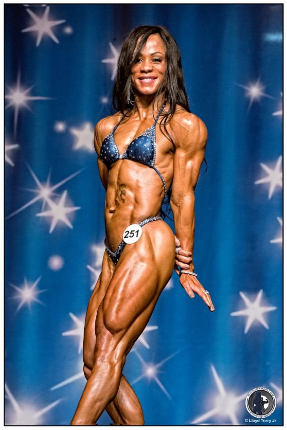 Npc Physique Competitor Meshelley White, Womens -4878