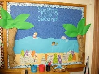 surfing into second grade