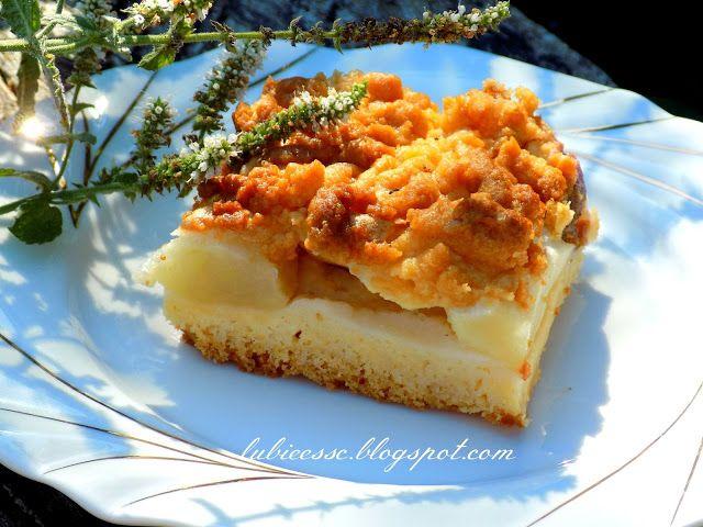 Ciasto kruche z gruszkami | Pychotkaaa