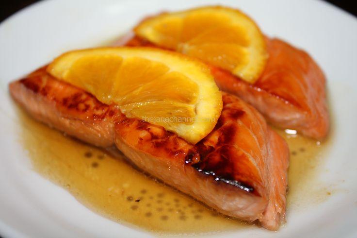 Honey-Orange Grilled Salmon