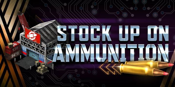It's time to reload – head to the brand-new Arsenal building to activate Ammunition, which provides devastating stat boosts to your troops depending on the type of Ammunition used. #electronics #mobiles #mobilesaccessories #laptops #computers #games #cameras #tablets   #3Dprinters #videogames  #smartelectronics  #officeelectronics